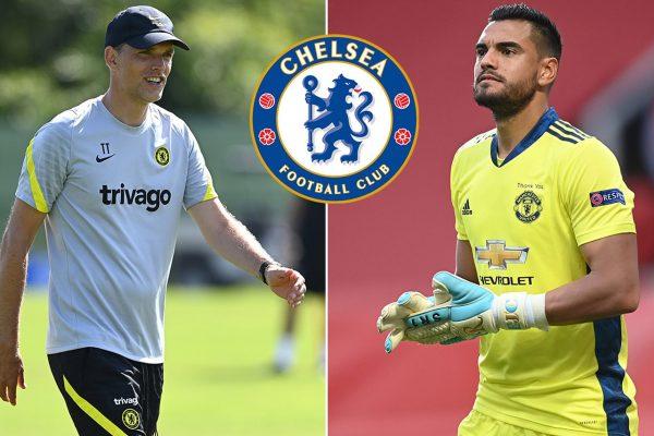 Chelsea are considering goalkeeper Sergio Romero
