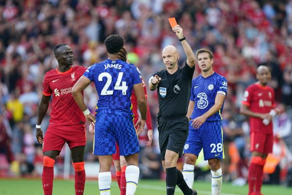 Chelsea have been charged by the Football Association for failing to control the behavior of their players. It happened during their 1-1 draw with Liverpool on Saturday